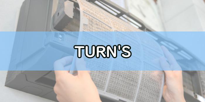 TURN'S大田区のエアコンクリーニング