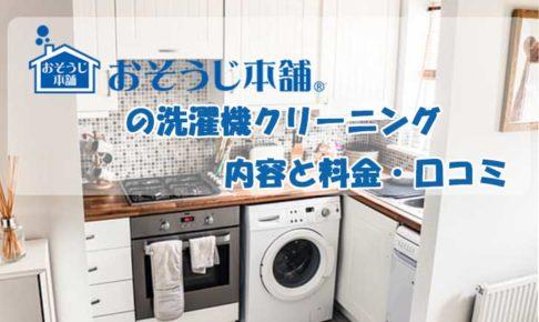 おそうじ本舗 洗濯機 クリーニング 内容 料金 口コミ