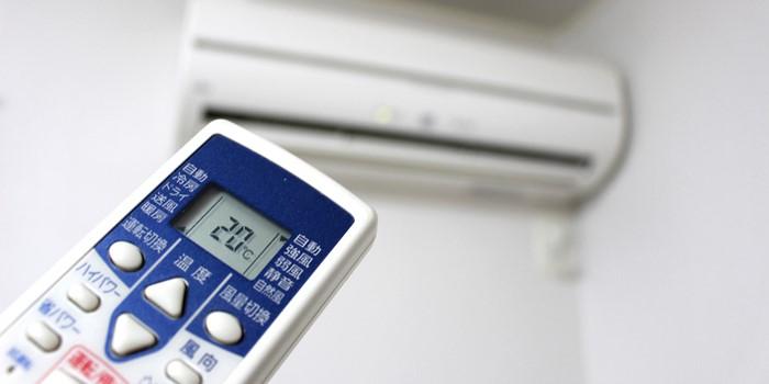 暖房の温度設定