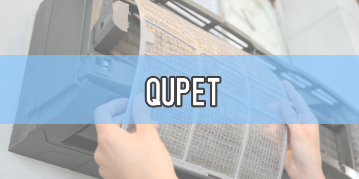 QUPET明石市のエアコンクリーニング