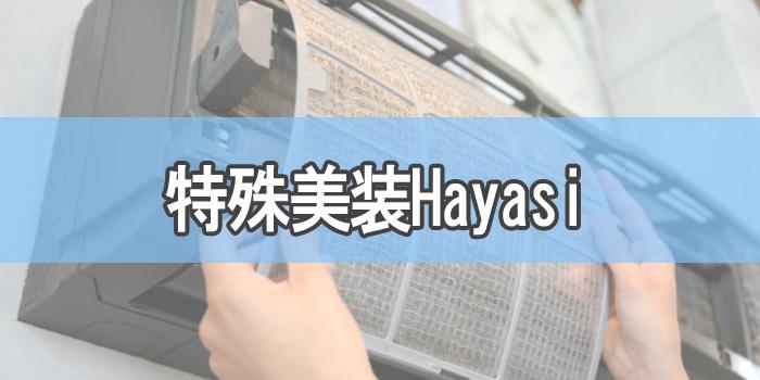 特殊美装Hayasi函館市のエアコンクリーニング